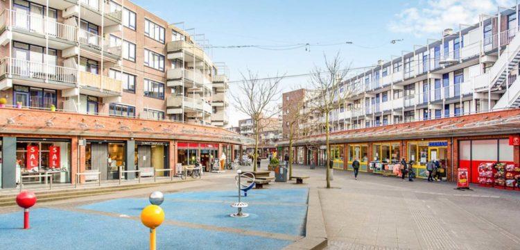 Nieuwe droge blusleiding winkelcentrum De Mare in Alkmaar
