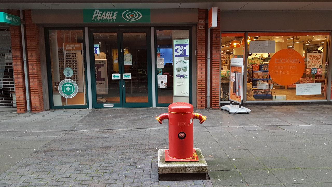 Nieuwe droge blusleiding winkelcentrum De Mare in Alkmaar 2