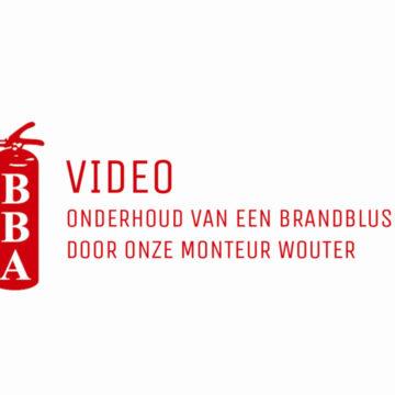 Video: Onderhoud van een brandblusser